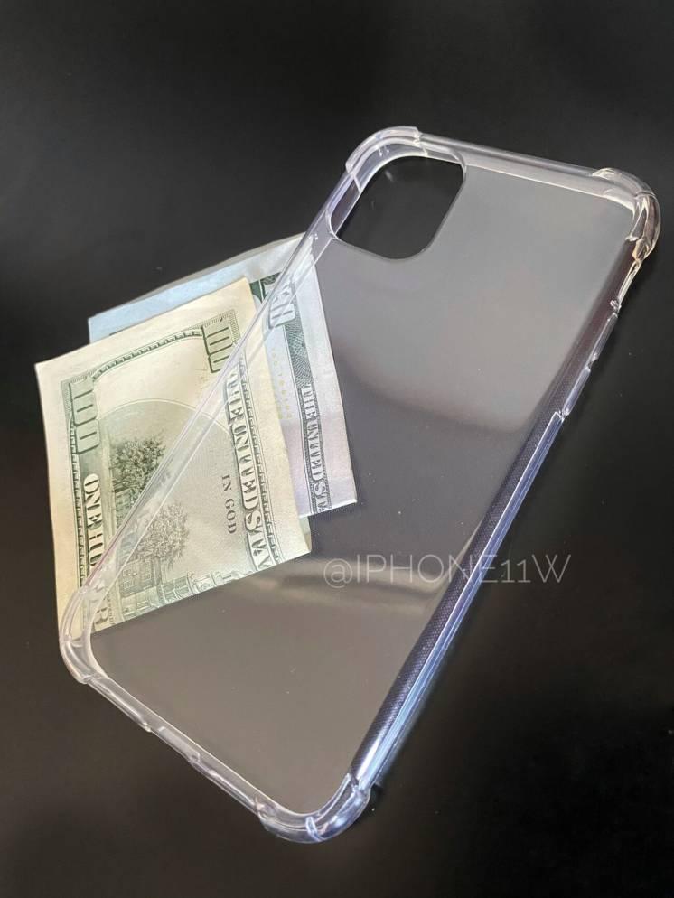 Прозрачный силиконовый чехол на iPhone 11, 11 pro, 11 pro max