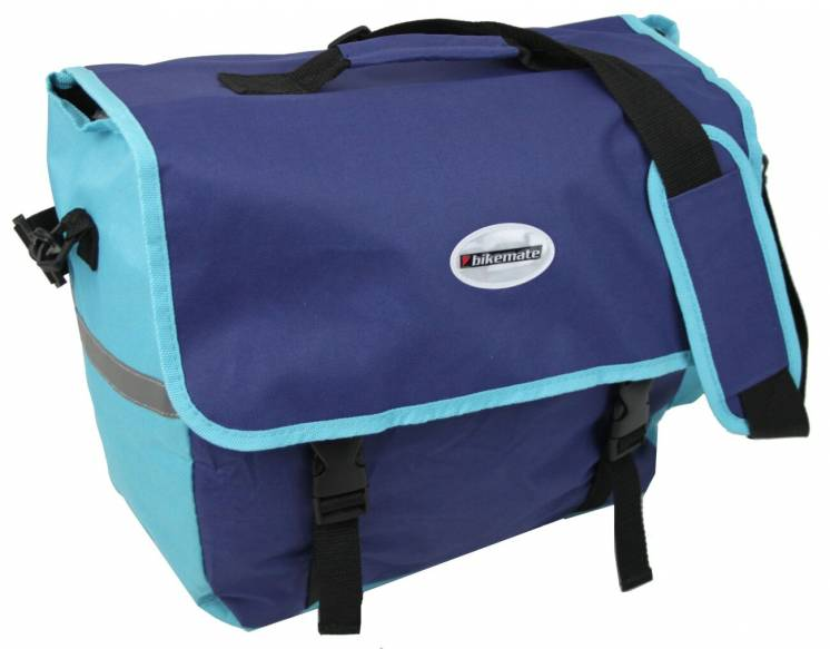 Велосумка, велосипедная сумка с дождевиком 14L Bikemate