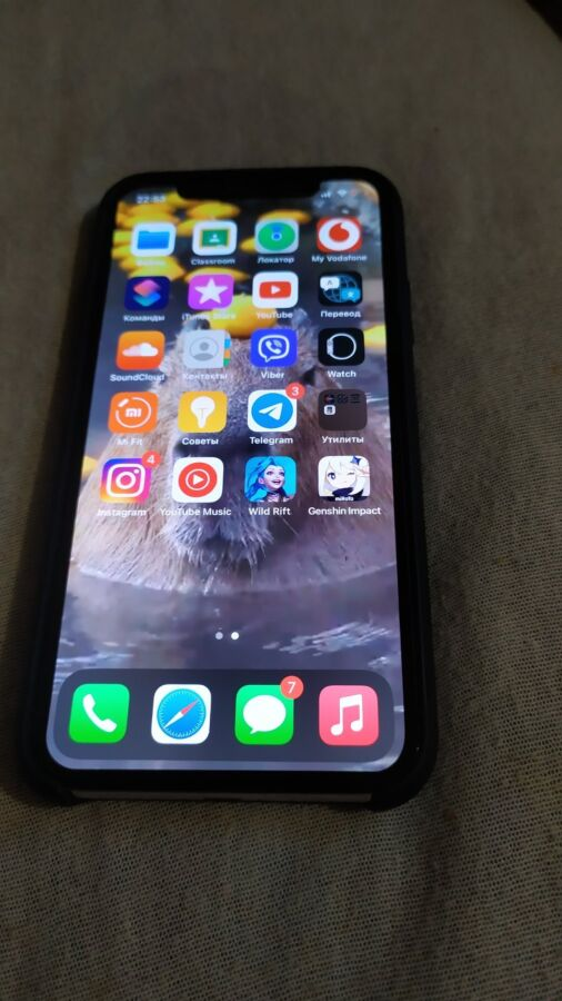 Продам iphone x 256 gb neverlock в чудовому стані