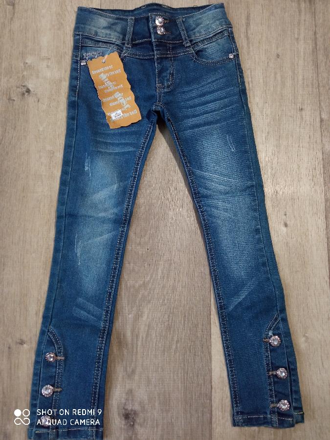 Новые джинсы для девочек.