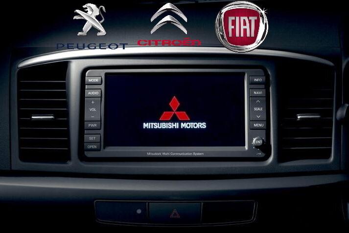 Русификация прошивка навигация MMCS Mitsubishi Citroen Peugeot Fiat
