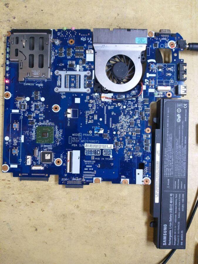 Ноутбук Samsung R60 рабочий, по запчастям