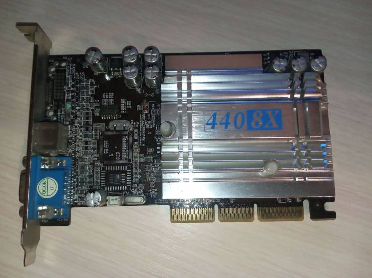 Відеокарта Nvidia Geforce 4 MX440 8x 64Mb (AGP)