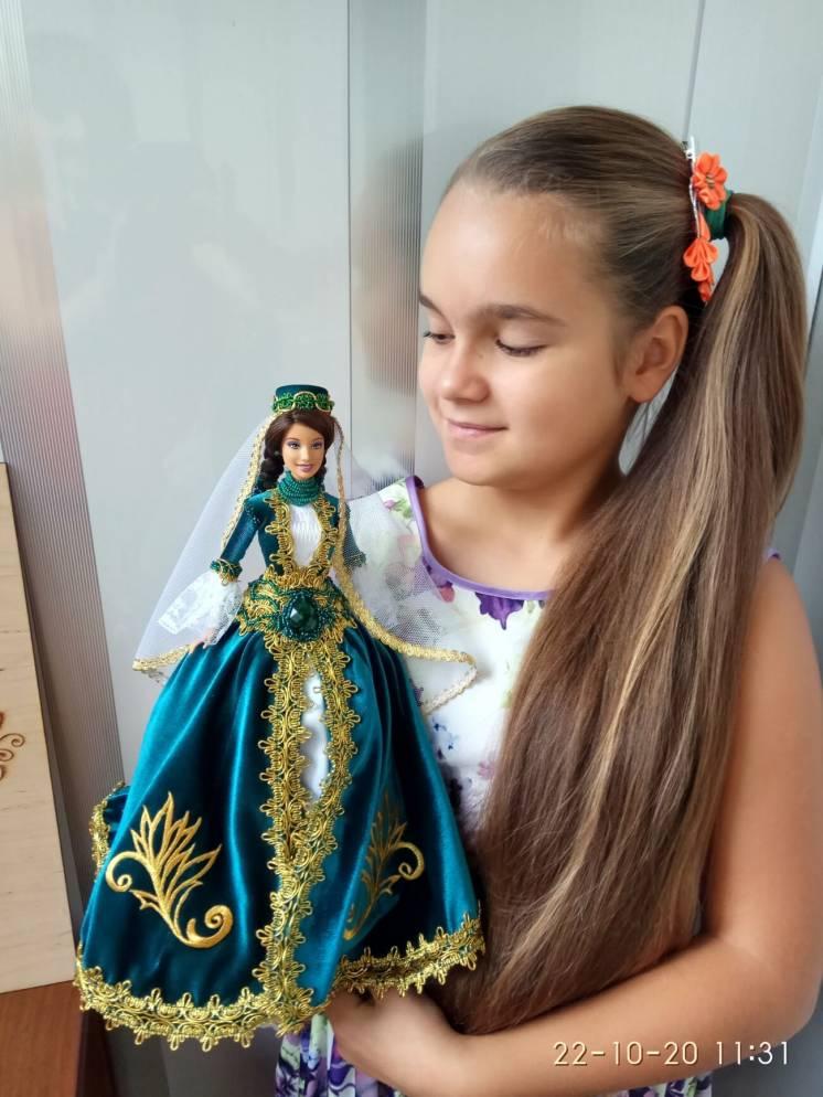 кукла-шкатулка подарок на День народження