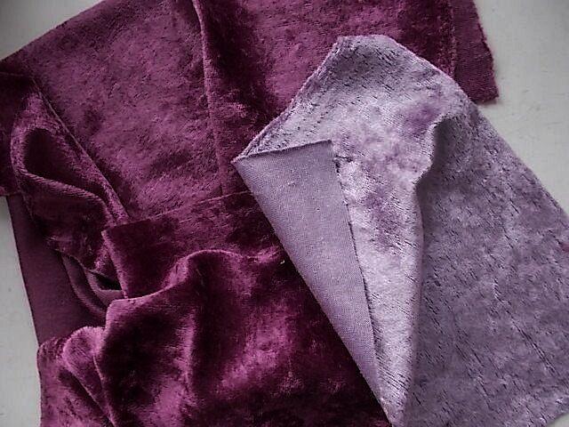 Ткань плюш  в наборе 2 цвета   Для поделок, рукоделия,  For Hand Made