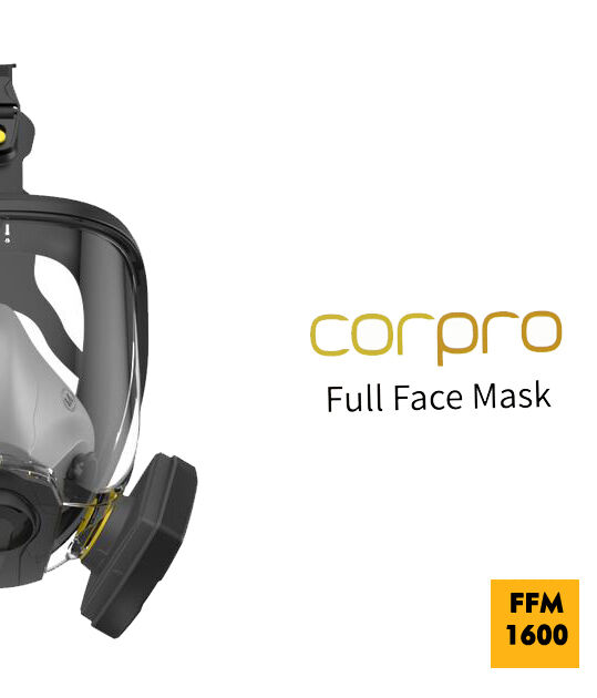 Полнолицевая Маска, Респиротор, противогаз FFM 1600 Full Face Mask
