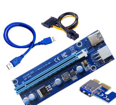 Riser Райзер кабель адаптер плата Ver006 6pin