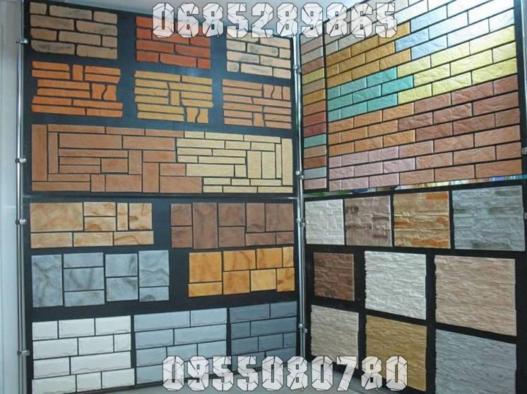 Декоративные облицовочные панели, плиты (стеновые и потолочные).