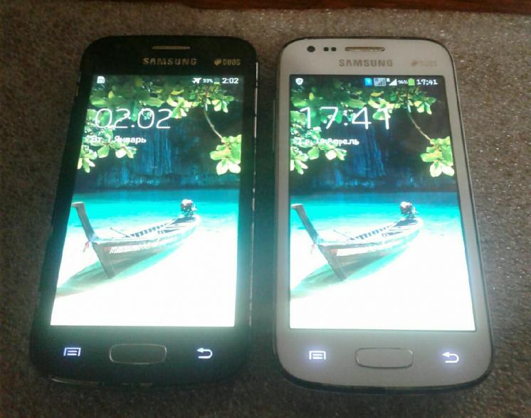 Samsung ace 3 7272 ( 2 штуки )