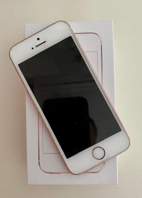 Продам iPhone 5SE 64 Gb Rose Gold Neverlock в идеальном состоянии