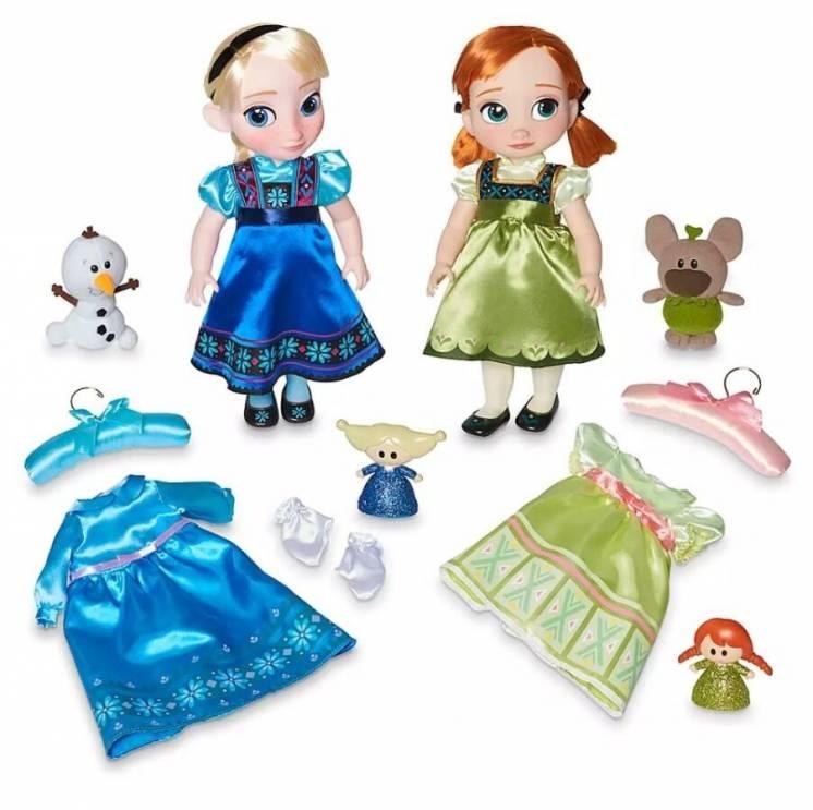 Набор кукол Эльза и Анна Дисней аниматор коллекция