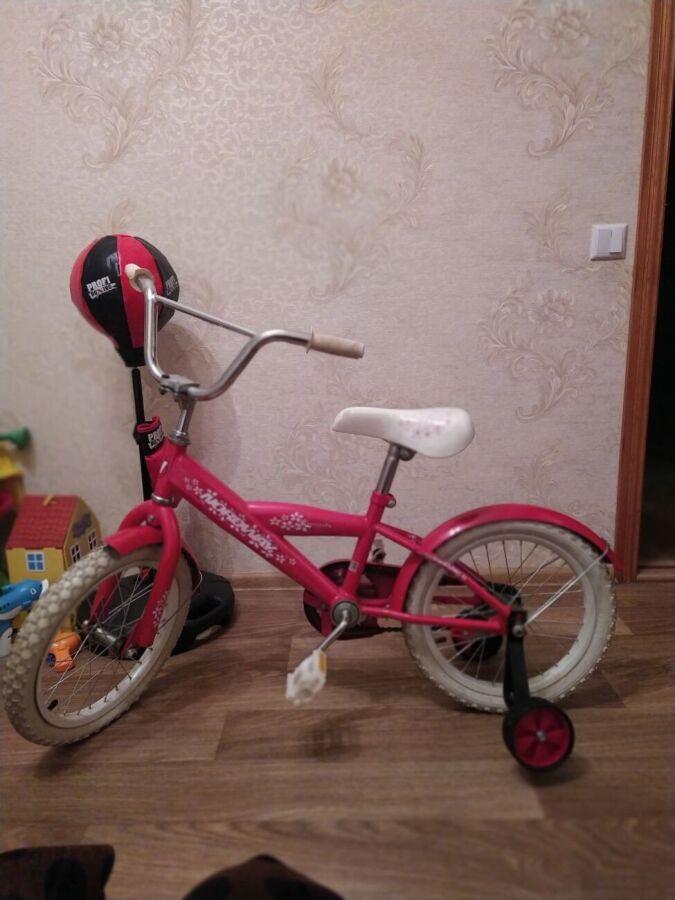 Детский велосипед колеса 16 дюймов