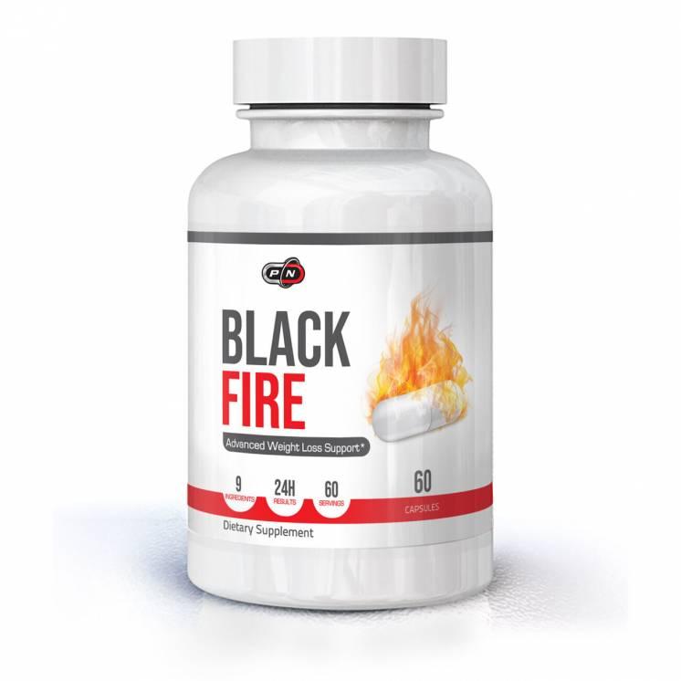 Жиросжигатель BLACK FIRE - 60 капсул