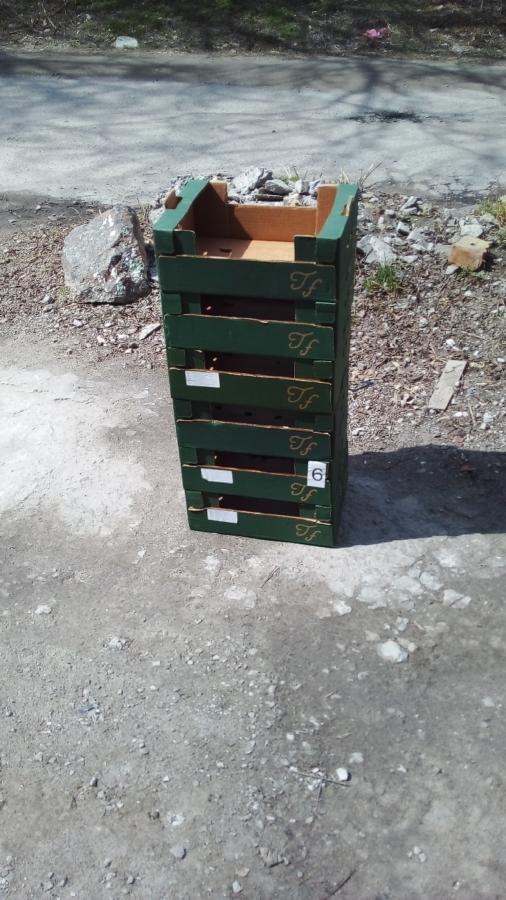Ящики для клубники