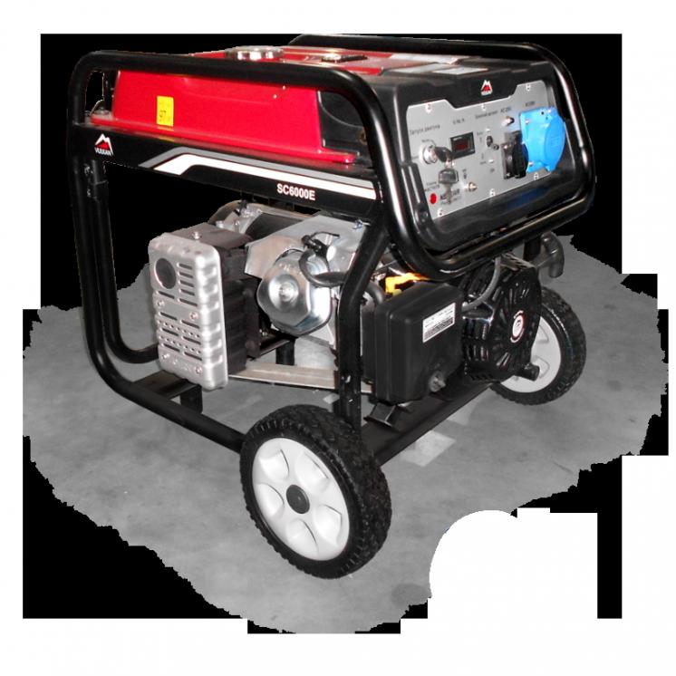 Генератор бензиновый Vulkan SC6000E - 5,0 кВт