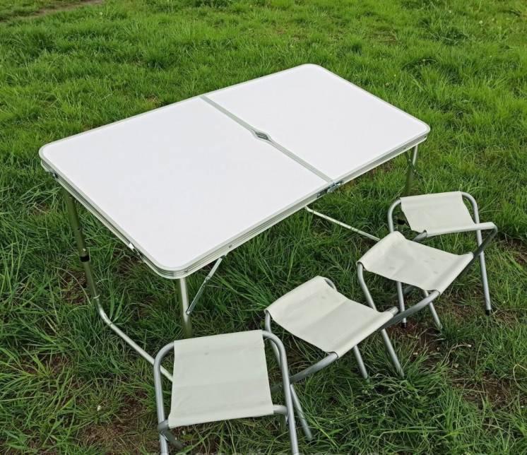 Стол для пикника со стульями Folding table раскладной, Складной стол