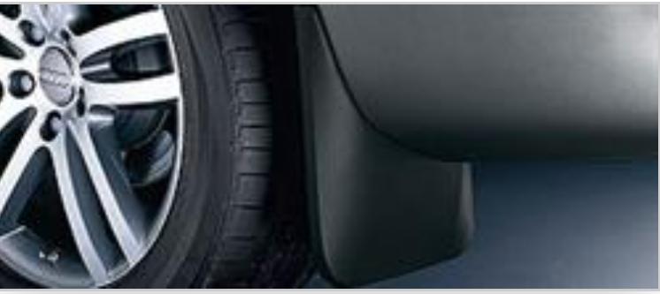 Задние брызговики Audi Q7 2005-2015 2шт. оригинал