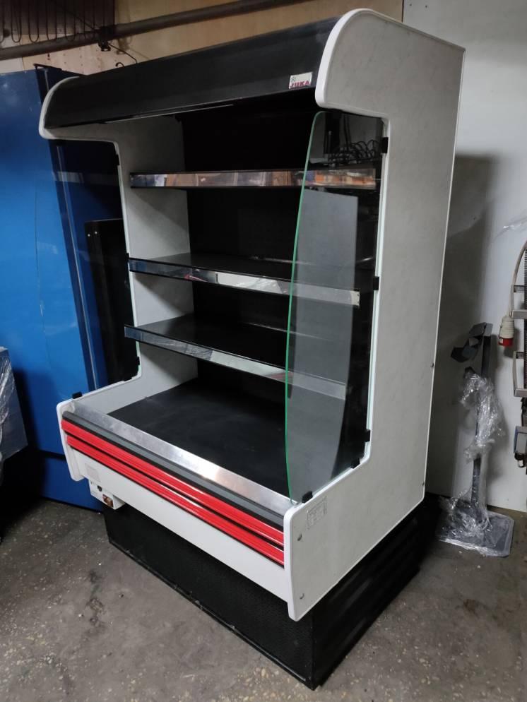 Холодильная горка Juka 1.2 м. б/у, витрина холодильная б у