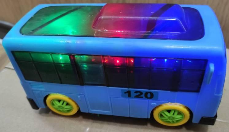 Світломузикальний іграшковий автобус