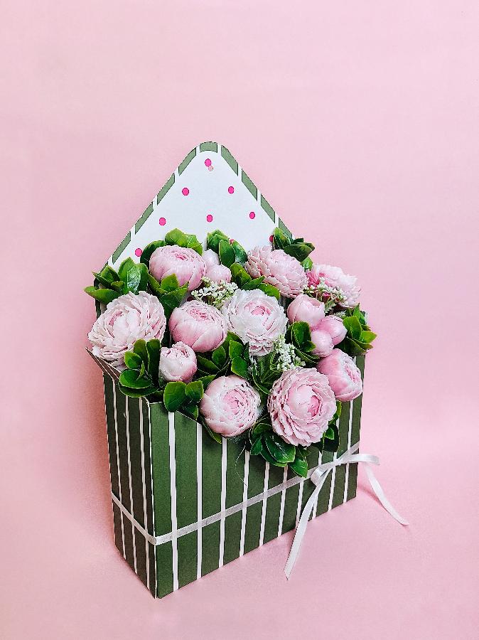 Мыльный букет, оригинальный подарок, цветочная композиция