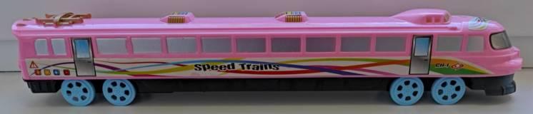 Машинка поїзд-електричка з інерційним механізмом