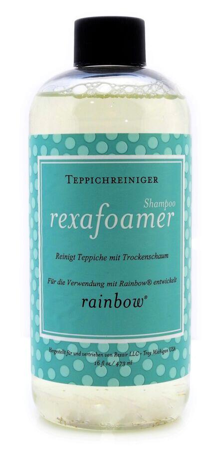 Шампунь для сухой пены Rainbow Rexafoamer для очистки ковров 473 мл.