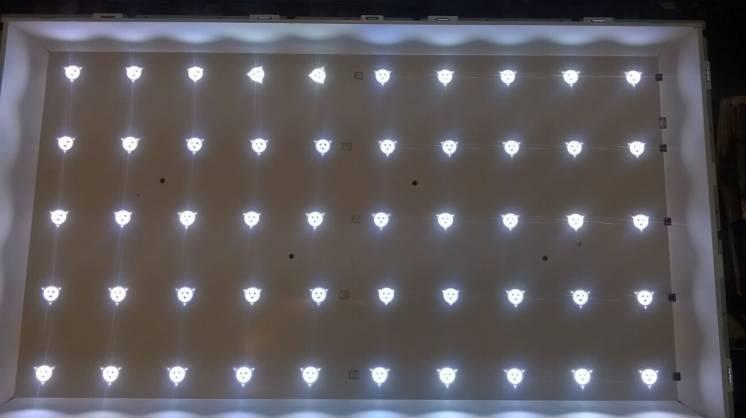 Подсветка от телевизора LG 42LN540 рабочая ( возможна установка ).