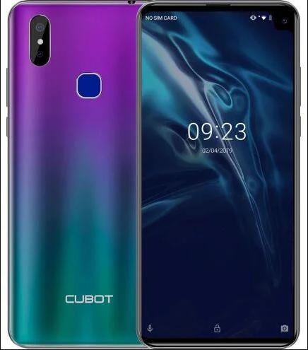 Смартфон Cubot Max 2 4/64GB Gradient