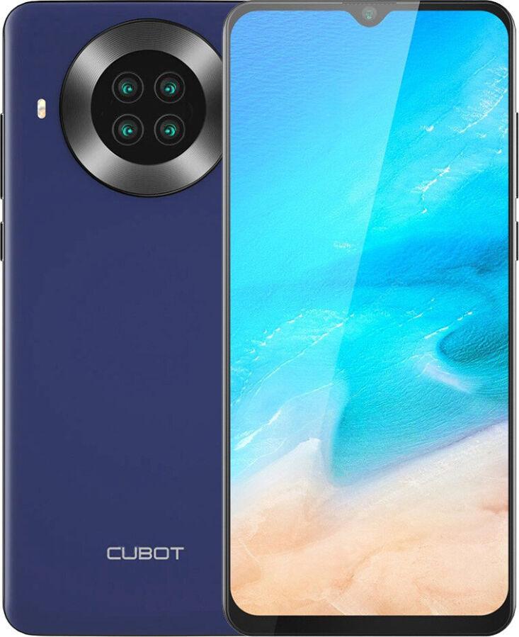 Смартфон Cubot Note 20 Pro 6/128Gb blue / green