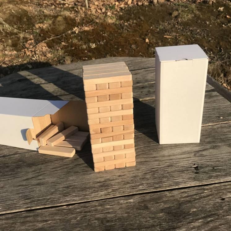 Jenga 4x4 - 72 дерев'яних блоків (Джанга, Дженга, Janga)Jenga