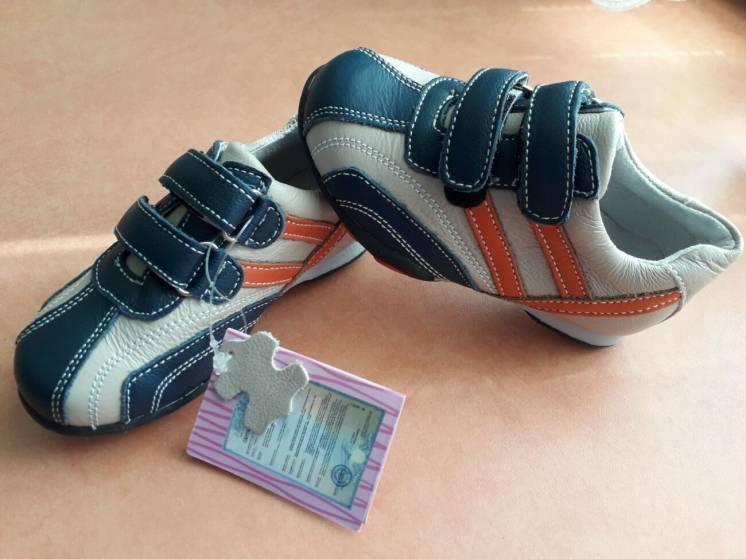 Кроссовки lilin shoes 23р, 25р. Кожа