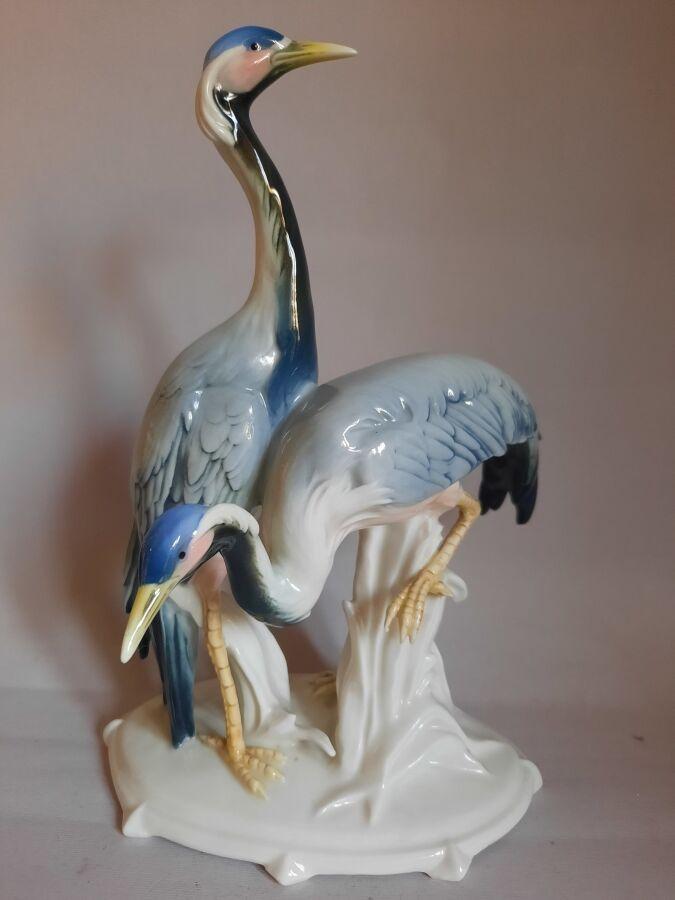 Два журавля, Karl Ens, Германия, 1930-40 гг