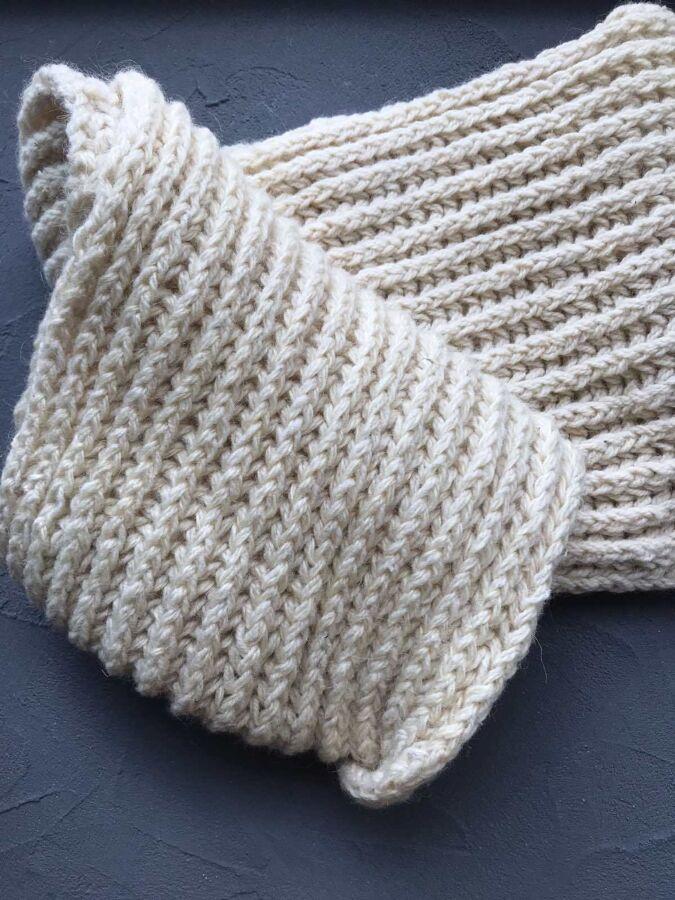 Снуд, шарф 100% шерсть (ручная работа)