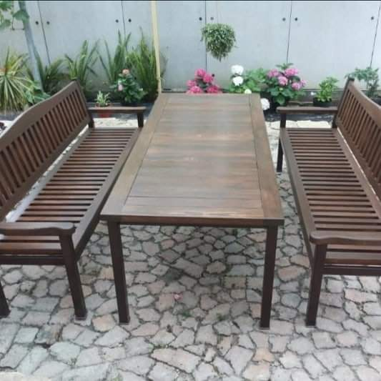 Столы, лавки для сада