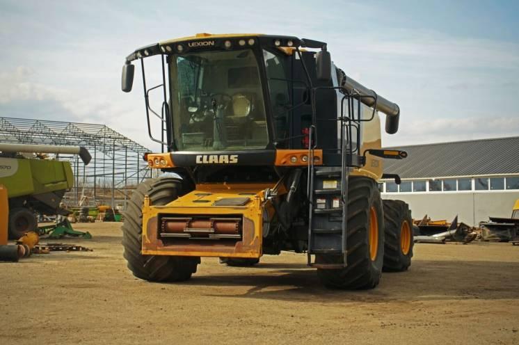 Зернозбиральний комбан Claas Lexion 740, 2011 р.