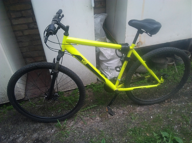 Велосипед up с замком