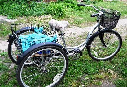 Продам трёхколёсный грузовой б/у велосипед