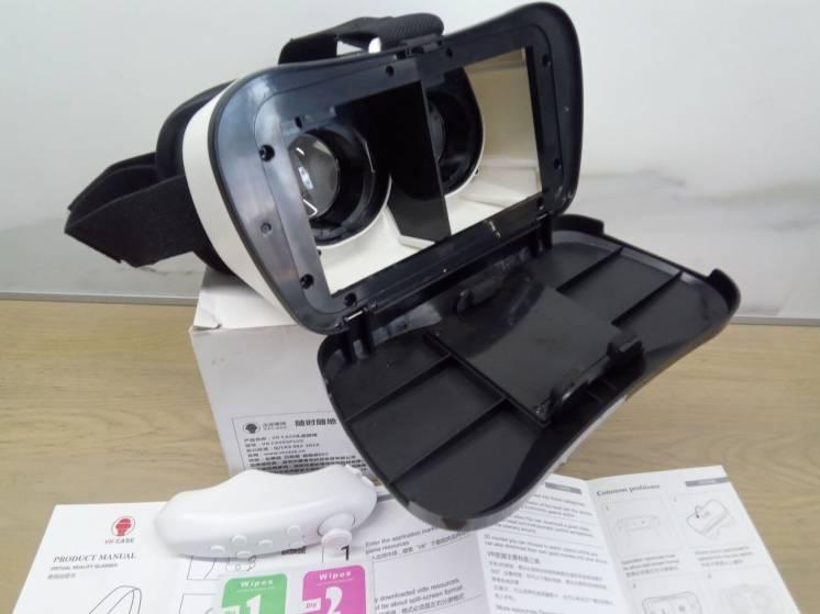 3D VR Очки - VR Case 5 plus + пульт управления