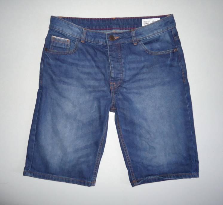 шорты  джинсовые   Denim Co.Slim Fit  (32)