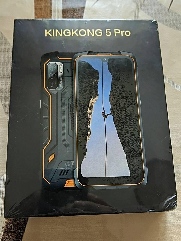 Cubot King Kong 5 Pro •Android 11•NFC•камери 48 Мп та 25 Мп•АКБ 8000