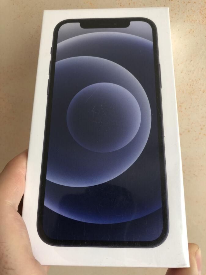 iPhone 12, Black, 64GB, NEW