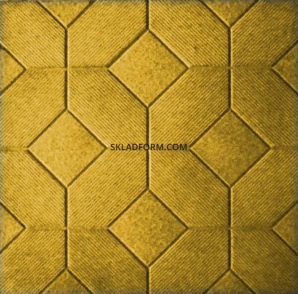 Формы для тротуарной плитки Мозаика 500х500