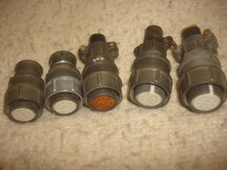 10 контактов разъём 2РМ22