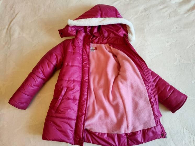Зимняя куртка для девочки. Бу