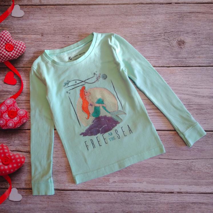 Реглан футболка с длинными рукавами Character на девочку 2-3 годика