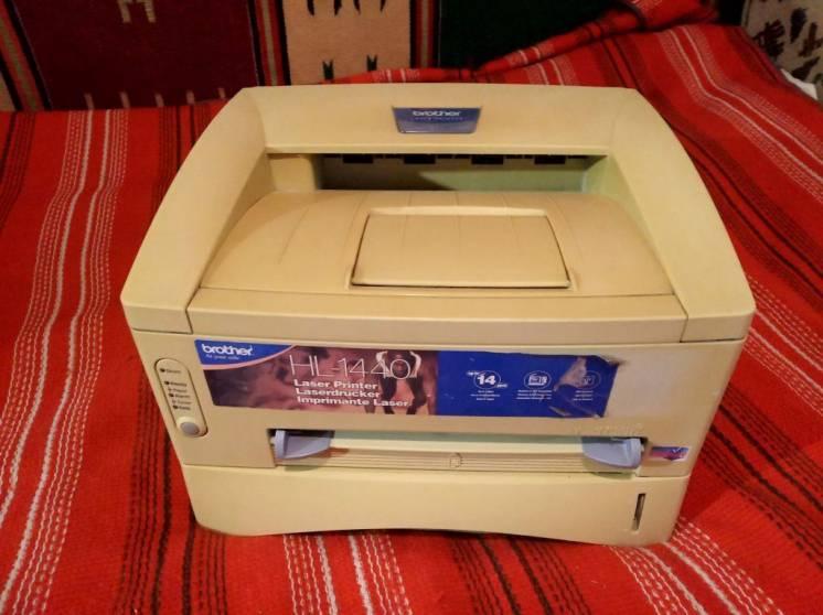 Принтер лазерный Brother HL-1440 Работа под Win 7 10