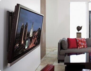 Установка Телевизора на стену/Повес телевизора/Монтаж/