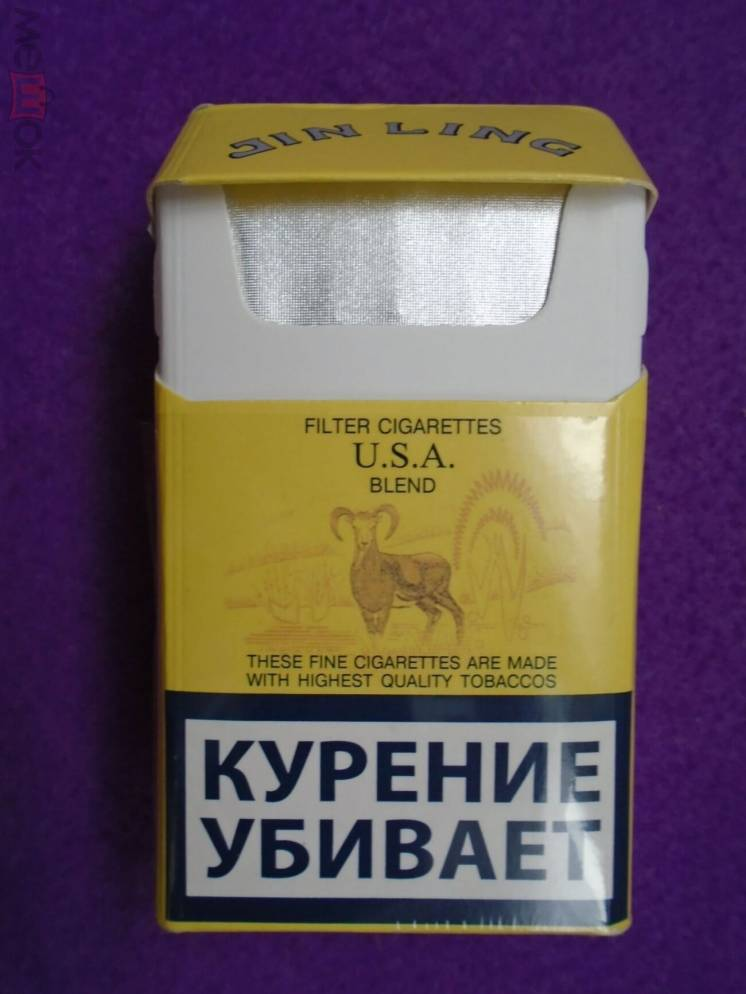 Сигареты Jin Ling, GT Smart и другие