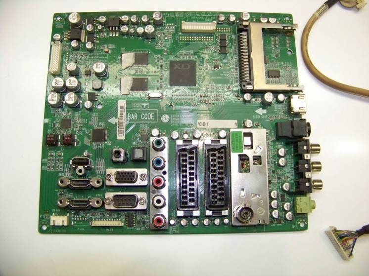 MAIN EAX40150702 EBU43398305 LGE7363C-LF TDFV-G135D 32LG3000