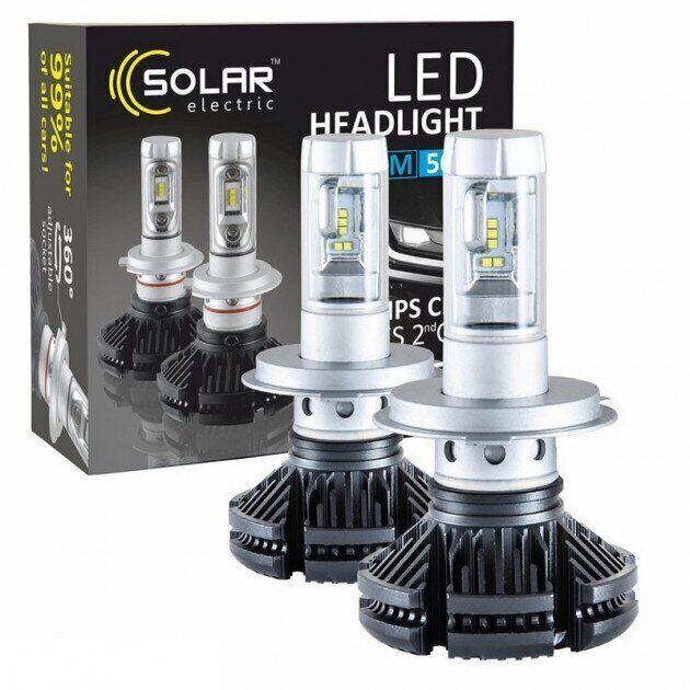 Solar LED H4, 12/24V ZES
